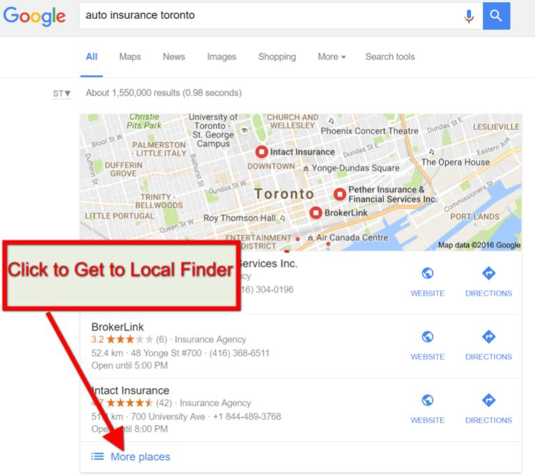 Impact of Google Possum Update on Local SERPS | Envigo