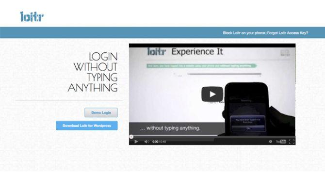 Loitr – A Mobile Authentication Technique